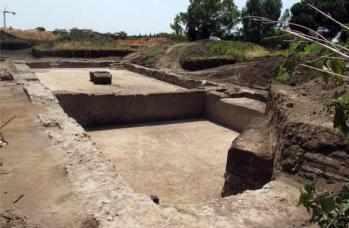 Ciampino, villa di Messalla, testimonianze archeologiche