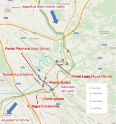 percorso acquedotti