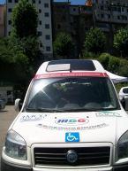 il mezzo messo a disposizione per il trasporto della merce da parte del Comune di Zagarolo